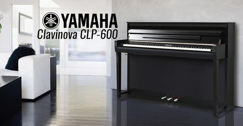 new yamaha clavinova clp 600 series